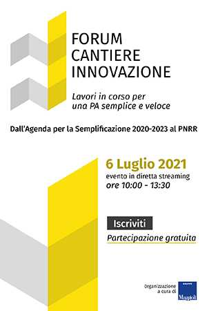Forum Cantiere Innovazione